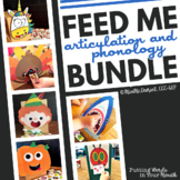 Feed Me Articulation & Phonology Bundle