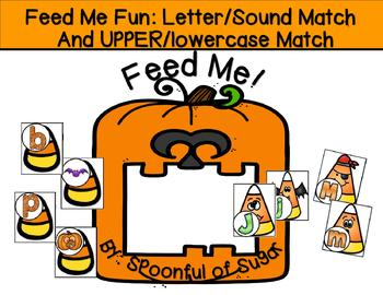 Feed Me Fun: Halloween Letters and Sounds