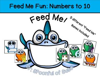 Feed Me Fun: Numbers to 10
