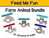 Feed Me Fun: Short Vowel Farm Animals Bundle