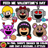 Feed Me Valentine's Day Clipart