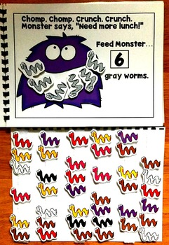 Feed Monster:  A Colors And Counting Adapted Book