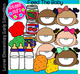 Feed The Baby Clipart- (Scribble Clips)