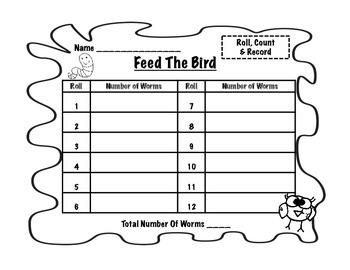Feed The Bird Math Center