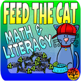 Feed The Cat Centers Literacy Math Activities Shapes Color