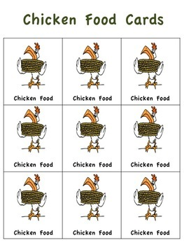 Feed The Chickens: A Multiplication Math  Game