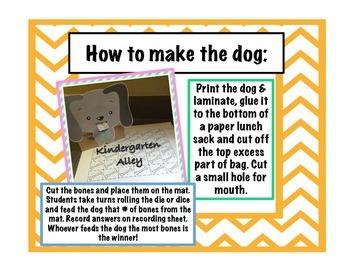 Feed The Dog Math Center