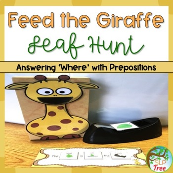 Where Questions with Visual Cues: Feed the Giraffe