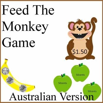 Feed The Monkey Australian Money Game
