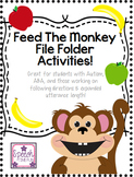Feed The Monkey!  (Great for students with Autism, ABA, an