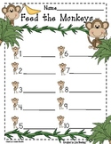 Feed The Monkeys:Sight Words