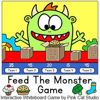 Review Game for any Subject - Interactive Whiteboards & Smartboards