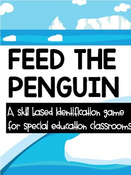 Feed The Penguin- a letter/number identification game
