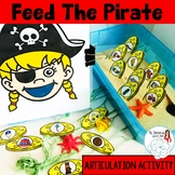 Feed The Pirate: Articulation Activity for Speech Therapy