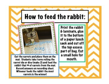 Feed The Rabbit Math Center