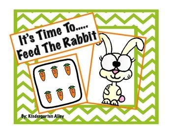 Feed The Rabbit Math Center