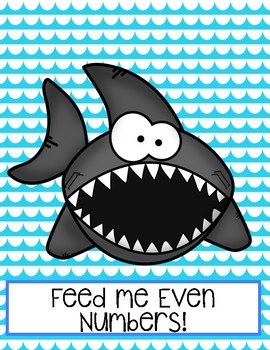 Feed The Sharks- Even and Odd Game 3 LEVELS!