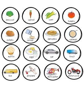 Snowman Categories- 2 Games!