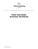 Feed Your Brain Grammar Workbook & Teacher's Guide