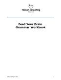 Feed Your Brain Grammar Workbook & Teacher's Guide