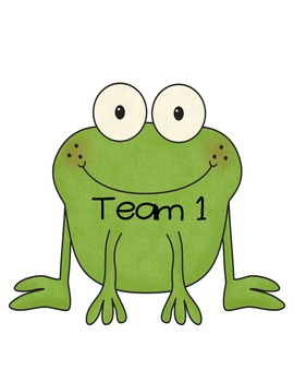 Feed Your Frog Team Points Classroom Management System