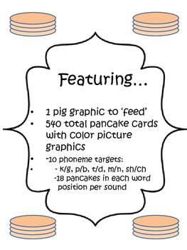 Feed a Pig a Pancake Articulation BUNDLE Pack