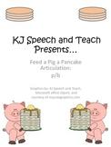 Feed a Pig a Pancake Articulation p&b