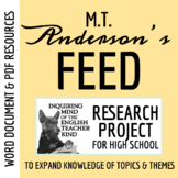 Feed by M.T. Anderson - Research Project