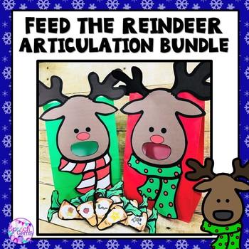 Feed the Articulation Reindeer BUNDLE