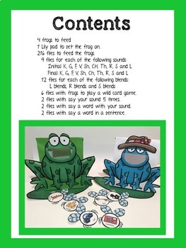 Feed the Articulation Frogs Game