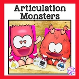 Valentine's Day Articulation Activity: Feed the Monster