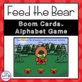 Feed the Bear Alphabet Game Boom Cards™ Digital Task Cards