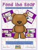 Feed the Bear Language & Literacy: Grammar, Vocabulary & Phonological Awareness