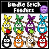 Feed the Bindlestick Clipart