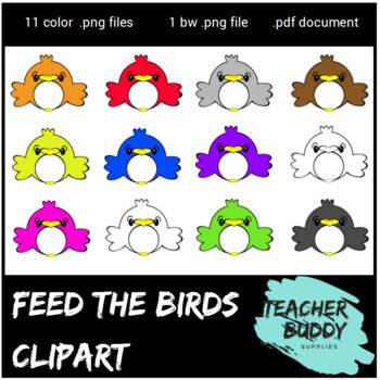 Feed the Birds - clipart package