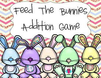 Feed the Bunnies Addition Game
