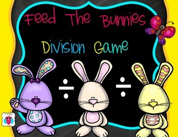 Feed the Bunnies Division Game