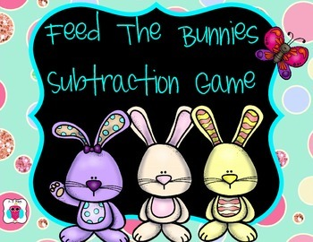 Feed the Bunnies Subtraction Game