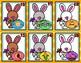 Feed the Bunny CVC Words Kindergarten Easter File Folder Game Literacy Center
