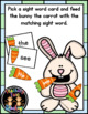 Feed the Bunny Fry's First 100 Words Sight Word Activity (UPDATED VERSION!)