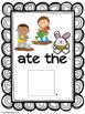 Feed the Bunny Vocabulary and Pronoun Activity