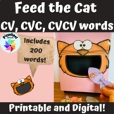 Feed the Cat CV CVC CVCV Apraxia of Speech Activity Speech