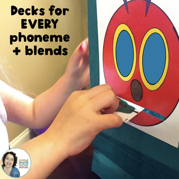 Feed the Caterpillar Articulation Cards!
