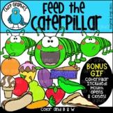 Feed the Caterpillar Clip Art Set - Chirp Graphics