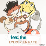 Feed the Character - Activity for Preschoolers (Letters, N