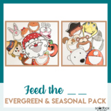 Feed the Characters - Activity for Preschoolers .:MEGA BUNDLE:.