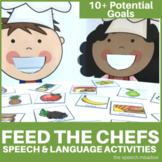 Speech and Language Activities   Feed the Chefs  