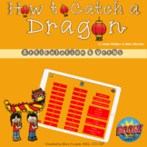 Feed the Dragon BOOM Cards for Articulation and Verbs