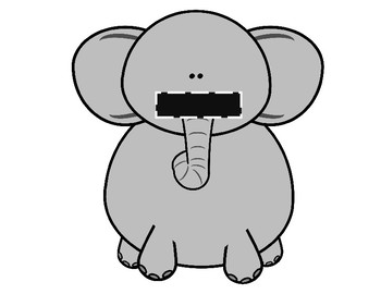 Feed the Elephant- Circus Vocabulary