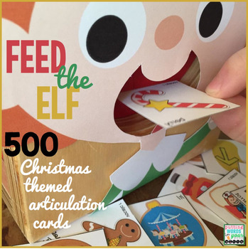 Feed the Elf! {500 Christmas Articulation Cards}